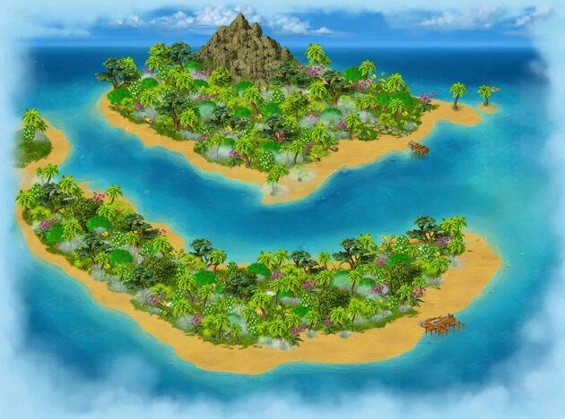 Treasure island area
