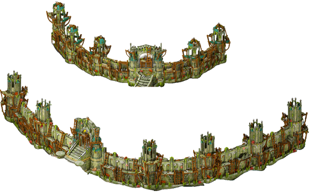 Stage 2 Walls and towers