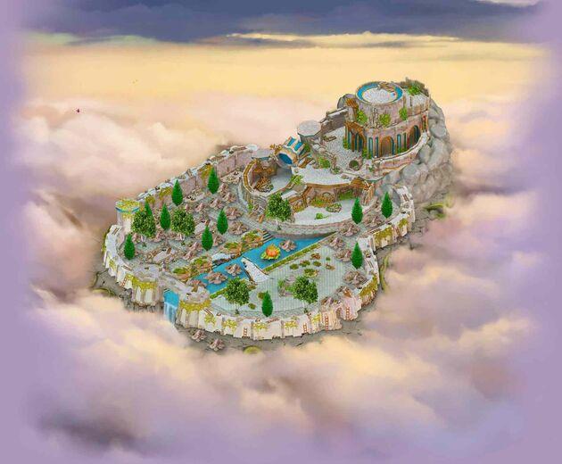 Fairytale castle area (Before)