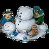 Snowman structure