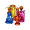 Alchemic flasks