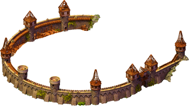 Stage 3 Walls and towers