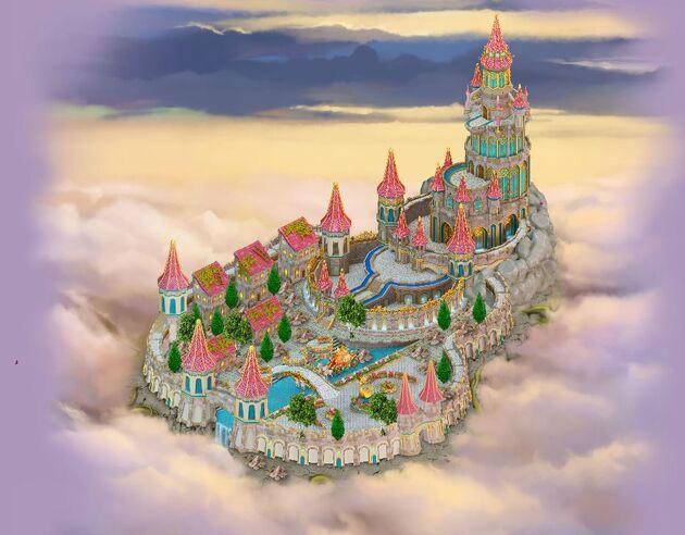 Fairytale castle area (After)