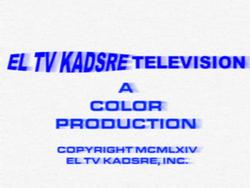 El TV Kadsre Television (Neighbours, 1964)