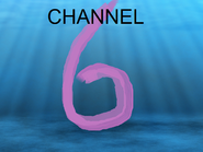 Channel 6 paint underwater id