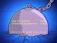 Toon Disney Cow And Chicken To Spongebob Squarepants