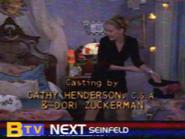 BTV Up Next Sidebar During Sabrina End Credits (1997)