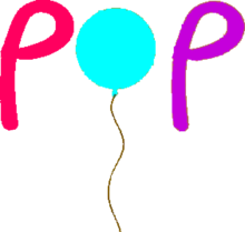 Pop (Hungary)'s first logo..png