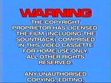 Cuben-Hoyts Video/Warning screens