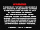 El TV Kadsre Home Entertainment/Warning screens