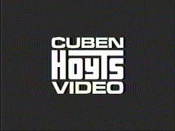 Cuben Hoyts Video 1985 Black and white