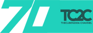 TheCuben2006 Channel 70 Years logo