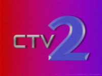 CTV2 ident 1991
