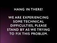TheCuben2006 Channel technical difficulties screen (2002)