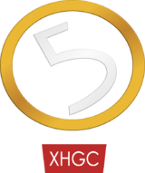 XHGC Canal 5 logo 1993.png