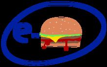 E-Burger logo in 2005.png