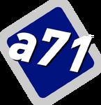 A71 bluelogo