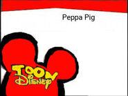 Toon Disney Peppa Pig Bumper 2004