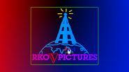 RKO Pictures logo from Route Cars (1980)
