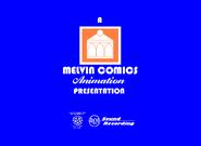 Melvin Comics Animation 1958-1980 Logo
