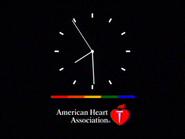 TC2C network clock 1999 American Heart Association