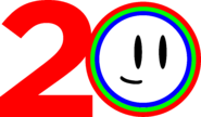 TheCuben2006 Channel 20 Years logo