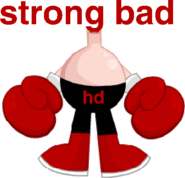 Head Bad and Strong Body