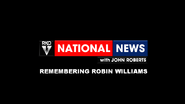 RKO National News Robin Williams special open 2014