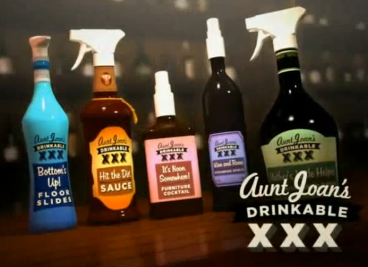 Aunt Joan's Drinkable Cleaning Products