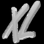 XL 3D White