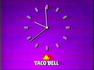 TC2C clock 1986 Taco Bell