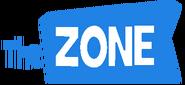 The Zone German Logo Blue