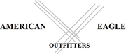 American Eagle Outfitters new Eruowoodian logo.png