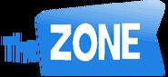 The Zone International Logo Blue