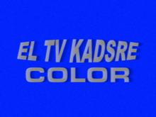 El TV Kadsre Color ID (1964, Early Version)
