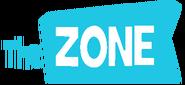 The Zone German Logo Cyan