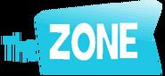 The Zone International Logo Cyan