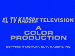 El TV Kadsre Television (Neighbours, 1964, Early Variant)