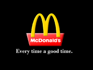 Mcdonalds every time a good time