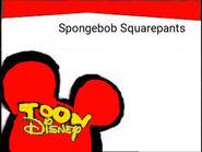 Toon Disney Spongebob Squarepants Bumper 2004