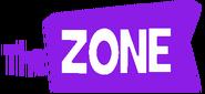 The Zone German Logo Purple