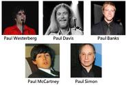 Paul name songs