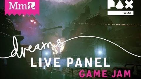PAX West Game Jam Panel DreamsPS4