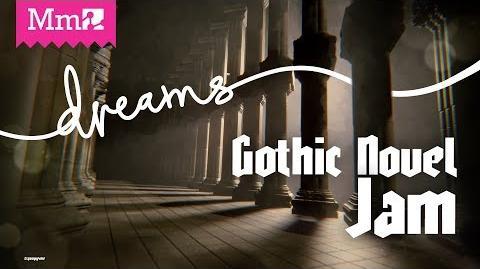 Gothic Novel Game Jam DreamsPS4