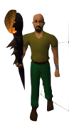 Voldemort's Dream Staff Equipped