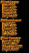 Infernal Cape stats