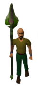 Toxic Staff of the Dead Equipped