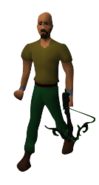 Poison Lotus Offhand Crossbow Equipped