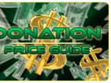 In-Game Donation Sales