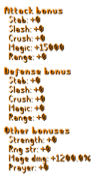 Elemental Fury Staff Stats